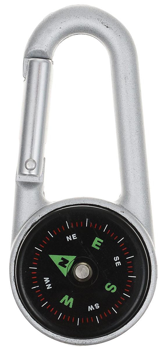 Компас-карабин ExpeditionECT-102Этот компас прост и удобен в использовании. Благодаря карабину его можно прикреплять к связке ключей, к рюкзаку, повесить на пояс. Так полезная вещь, которая всегда останется при вас, превращается в стильную деталь.На шкале компаса отмечен каждый пятый градус. Основные характеристики:Размер компаса с карабином:7 см х 3 см. Диаметр компаса:3 см. Артикул:ЕСТ-102.В походе, на рыбалке, в экспедиции или в других экстремальных условиях вы можете оказаться в ситуации, когда от надежности снаряжения будет зависеть ваш комфорт и ваша безопасность! Продукты под торговой маркой Expedition пригодятся в самых суровых испытаниях, которым может подвергнуться человек во время путешествия. Разработано компанией Ruyan Co, Германия.