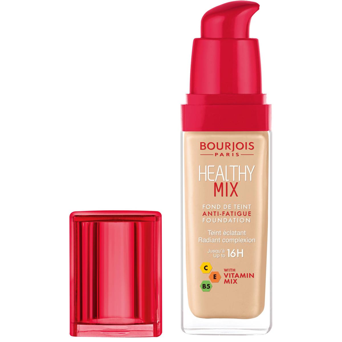 Bourjois Консилер Healthy Mix, Тон 5229199598002Healthy Mix Concealer содержит антиоксиданты, мощный витаминный комплекс и тонизирующие компоненты, которые скрывают следы усталости и придают сияние Вашей коже.