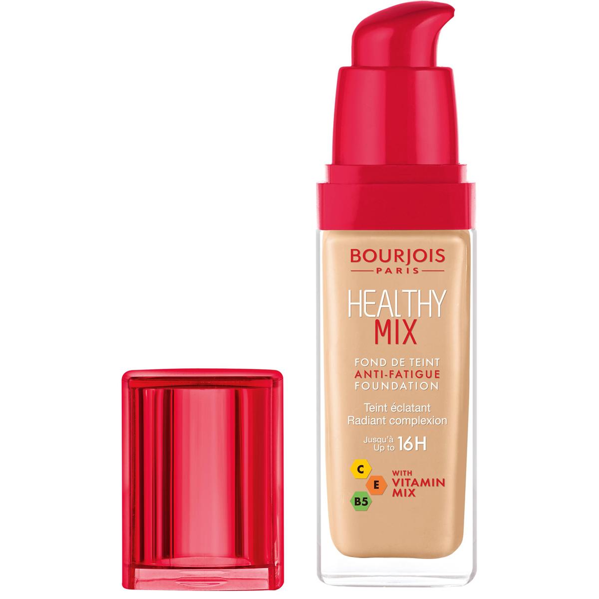 Bourjois Консилер Healthy Mix, Тон 5329199598003Healthy Mix Concealer содержит антиоксиданты, мощный витаминный комплекс и тонизирующие компоненты, которые скрывают следы усталости и придают сияние Вашей коже.