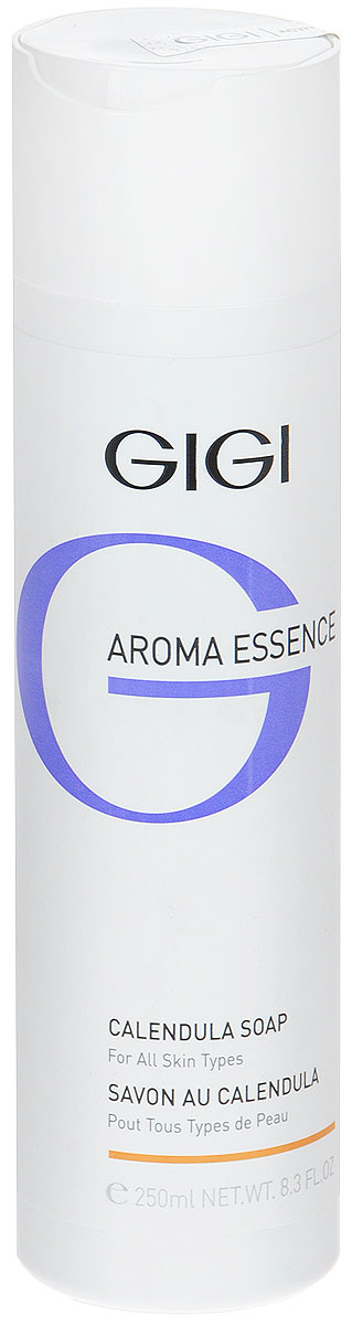 GIGI Мыло жидкое Календула для всех типов кожи Aroma Essence, 250 млFS-00897Легкое жидкое мыло с нежным ароматом моментально расслабляет кожу. Действие: Снимает напряжение и стресс, великолепно очищает и смягчает, не нарушая рН и барьер кожи. Активные ингредиенты: экстракты календулы, ромашки, розы столистной, крапивы, гамамелиса, конского каштана, шалфея, мелиссы, витамин Е.