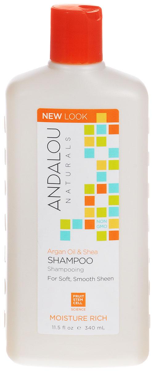 ANDALOU Шампунь для увлажнения волос Аргани Ши, 340 млFS-00897Шампунь для мягкости, гладкости и блеска волос. Комплекс фруктовых стволовых клеток и Аргановое масло глубоко питают и увлажняют, масло Ши поддерживает упругость, улучшает прочность и облегчает укладку волос. Экстракт сладкого Апельсина придает локонам блеск, питает витаминами , увлажняет. Шампунь улучшает внешний вид секущихся кончиков и вьющихся волос. В результате Вы получаете заметно мягкие, гладкие волосы с потрясающим блеском. Посеченные кончики исчезнут, волосы по всей длине станут сильными, упругими и блестящими.Уважаемые клиенты!Обращаем ваше внимание на возможные изменения в дизайне упаковки. Качественные характеристики товара остаются неизменными. Поставка осуществляется в зависимости от наличия на складе.