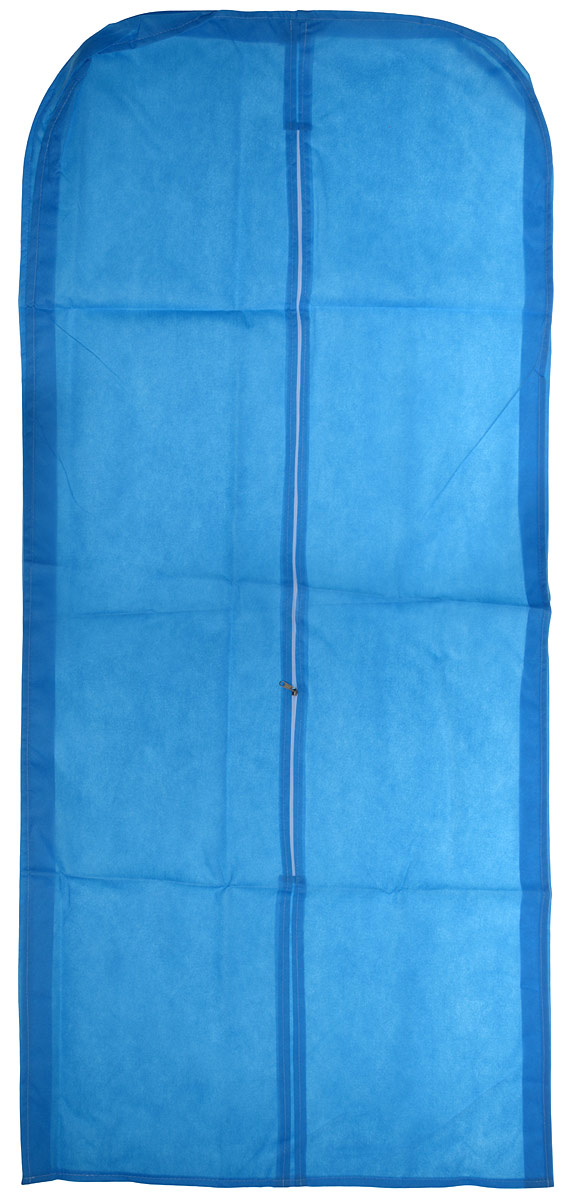 Чехол для одежды Eva со вставкой, цвет: синий, 65 х 140 х 10 смЕ26Чехол для одежды Eva со вставкой для объемных вещей.Удобный чехол на молнии из прочного дышащего и водонепроницаемого материала обеспечит надежное хранение вашей одежды, защитит от повреждений во время хранения и транспортировки. Особая фактура ткани не пропускает пыль и при этом позволяет воздуху свободно проникать внутрь, обеспечивая естественную вентиляцию. Размеры: 65 см х 140 см х 10 см.