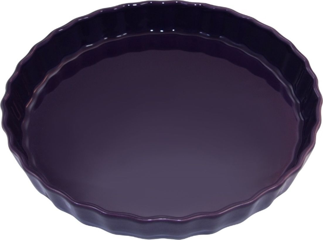 Форма для пирога Appolia Delices, цвет: баклажановый, 2,1 л54 009312Благодаря большому разнообразию изящных форм и широкой цветовой гамме, коллекция DELICES предлагает всевозможные варианты приготовления блюд для себя и гостей. Выбирайте цвета в соответствии с вашими желаниями и вашей кухне. Закругленные углы облегчают чистку. Легко использовать. Большие удобные ручки. Прочная жароустойчивая керамика экологична и изготавливается из высококачественной глины. Прочная глазурь устойчива к растрескиванию и сколам, не содержит свинца и кадмия. Глина обеспечивает медленный и равномерный нагрев, деликатное приготовление с сохранением всех питательных веществ и витаминов, а та же долго сохраняет тепло, что удобно при сервировке горячих блюд.