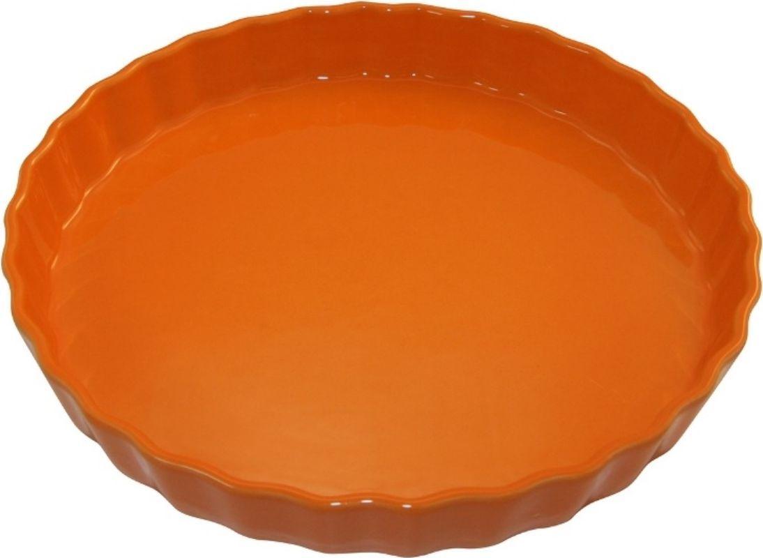 Форма для пирога Appolia Delices, цвет: мандариновый, 2,1 л54 009312Благодаря большому разнообразию изящных форм и широкой цветовой гамме, коллекция DELICES предлагает всевозможные варианты приготовления блюд для себя и гостей. Выбирайте цвета в соответствии с вашими желаниями и вашей кухне. Закругленные углы облегчают чистку. Легко использовать. Большие удобные ручки. Прочная жароустойчивая керамика экологична и изготавливается из высококачественной глины. Прочная глазурь устойчива к растрескиванию и сколам, не содержит свинца и кадмия. Глина обеспечивает медленный и равномерный нагрев, деликатное приготовление с сохранением всех питательных веществ и витаминов, а та же долго сохраняет тепло, что удобно при сервировке горячих блюд.