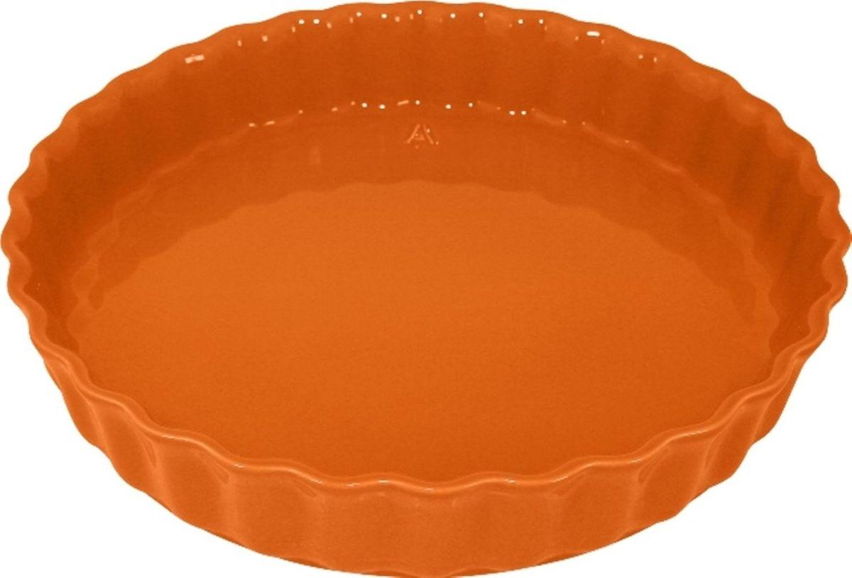 Форма для пирога Appolia Delices, цвет: мандариновый, 28 х 28 смFS-91909Благодаря большому разнообразию изящных форм и широкой цветовой гамме, коллекция DELICES предлагает всевозможные варианты приготовления блюд для себя и гостей. Выбирайте цвета в соответствии с вашими желаниями и вашей кухне. Закругленные углы облегчают чистку. Легко использовать. Большие удобные ручки. Прочная жароустойчивая керамика экологична и изготавливается из высококачественной глины. Прочная глазурь устойчива к растрескиванию и сколам, не содержит свинца и кадмия. Глина обеспечивает медленный и равномерный нагрев, деликатное приготовление с сохранением всех питательных веществ и витаминов, а та же долго сохраняет тепло, что удобно при сервировке горячих блюд.