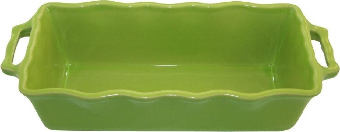Форма для кекса Appolia Delices, цвет: лаймовый, 2 л94672Благодаря большому разнообразию изящных форм и широкой цветовой гамме, коллекция DELICES предлагает всевозможные варианты приготовления блюд для себя и гостей. Выбирайте цвета в соответствии с вашими желаниями и вашей кухне. Закругленные углы облегчают чистку. Легко использовать. Большие удобные ручки. Прочная жароустойчивая керамика экологична и изготавливается из высококачественной глины. Прочная глазурь устойчива к растрескиванию и сколам, не содержит свинца и кадмия. Глина обеспечивает медленный и равномерный нагрев, деликатное приготовление с сохранением всех питательных веществ и витаминов, а та же долго сохраняет тепло, что удобно при сервировке горячих блюд.