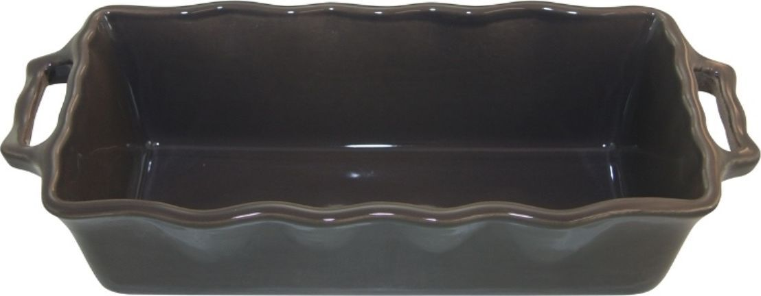 Форма для кекса Appolia Delices, цвет: темно-серый, 2 л54 009312Благодаря большому разнообразию изящных форм и широкой цветовой гамме, коллекция DELICES предлагает всевозможные варианты приготовления блюд для себя и гостей. Выбирайте цвета в соответствии с вашими желаниями и вашей кухне. Закругленные углы облегчают чистку. Легко использовать. Большие удобные ручки. Прочная жароустойчивая керамика экологична и изготавливается из высококачественной глины. Прочная глазурь устойчива к растрескиванию и сколам, не содержит свинца и кадмия. Глина обеспечивает медленный и равномерный нагрев, деликатное приготовление с сохранением всех питательных веществ и витаминов, а та же долго сохраняет тепло, что удобно при сервировке горячих блюд.