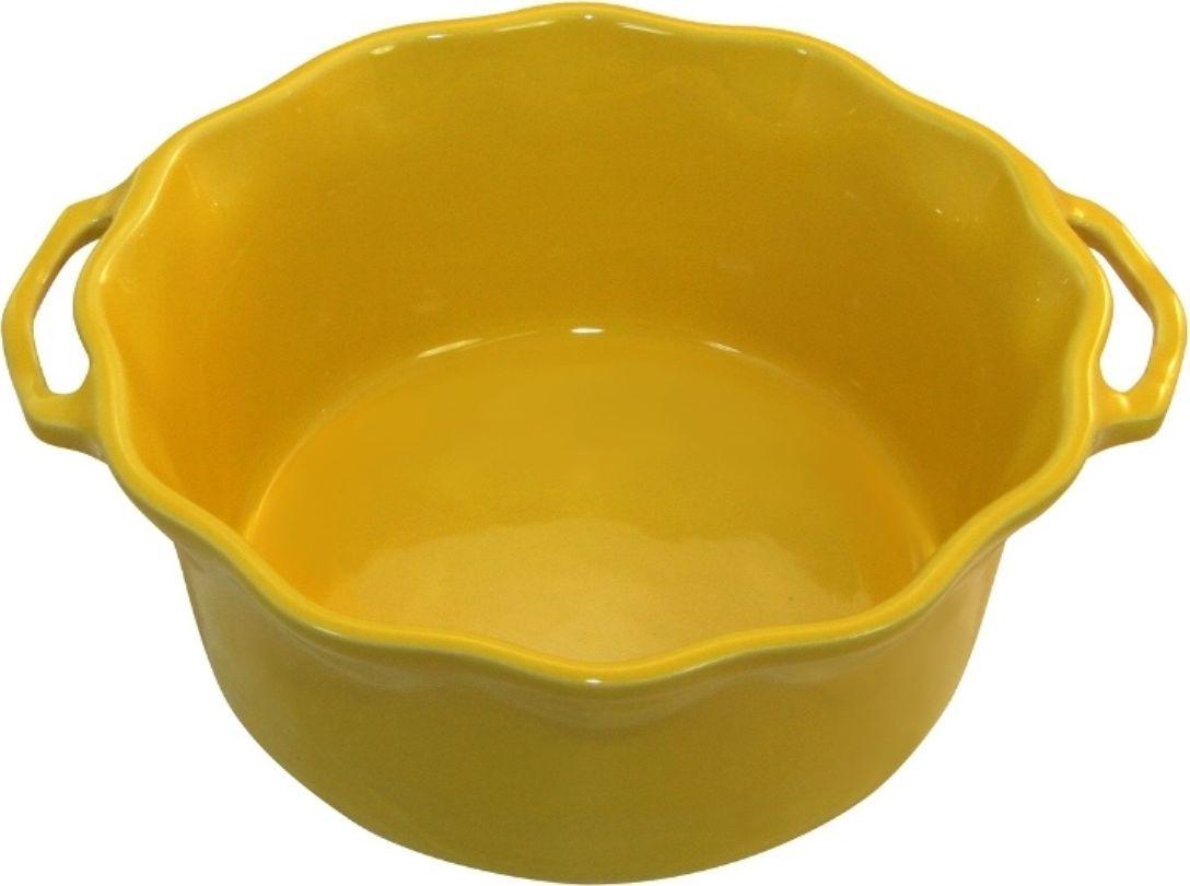 Форма для суфле Appolia Delices, цвет: грейпфрутовый, 2,2 л54 009312Благодаря большому разнообразию изящных форм и широкой цветовой гамме, коллекция DELICES предлагает всевозможные варианты приготовления блюд для себя и гостей. Выбирайте цвета в соответствии с вашими желаниями и вашей кухне. Закругленные углы облегчают чистку. Легко использовать. Большие удобные ручки. Прочная жароустойчивая керамика экологична и изготавливается из высококачественной глины. Прочная глазурь устойчива к растрескиванию и сколам, не содержит свинца и кадмия. Глина обеспечивает медленный и равномерный нагрев, деликатное приготовление с сохранением всех питательных веществ и витаминов, а та же долго сохраняет тепло, что удобно при сервировке горячих блюд.