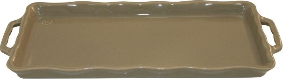 Форма для выпечки Appolia Delices, цвет: песочный, 41 х 18,2 х 3,1 см115510Благодаря большому разнообразию изящных форм и широкой цветовой гамме, коллекция DELICES предлагает всевозможные варианты приготовления блюд для себя и гостей. Выбирайте цвета в соответствии с вашими желаниями и вашей кухне. Закругленные углы облегчают чистку. Легко использовать. Большие удобные ручки. Прочная жароустойчивая керамика экологична и изготавливается из высококачественной глины. Прочная глазурь устойчива к растрескиванию и сколам, не содержит свинца и кадмия. Глина обеспечивает медленный и равномерный нагрев, деликатное приготовление с сохранением всех питательных веществ и витаминов, а та же долго сохраняет тепло, что удобно при сервировке горячих блюд.