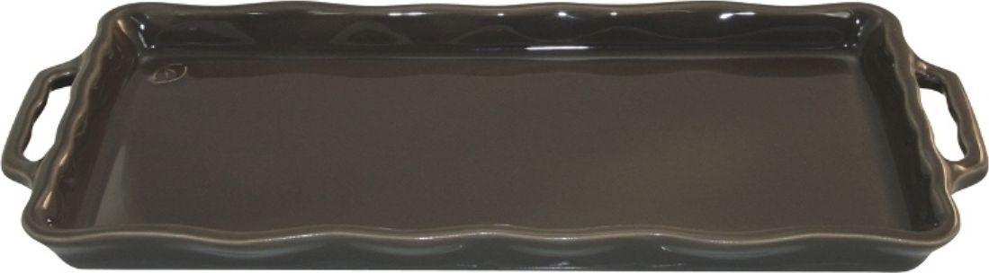 Форма для выпечки Appolia Delices, цвет: темно-серый, 41 х 18,2 х 3,1 см94672Благодаря большому разнообразию изящных форм и широкой цветовой гамме, коллекция DELICES предлагает всевозможные варианты приготовления блюд для себя и гостей. Выбирайте цвета в соответствии с вашими желаниями и вашей кухне. Закругленные углы облегчают чистку. Легко использовать. Большие удобные ручки. Прочная жароустойчивая керамика экологична и изготавливается из высококачественной глины. Прочная глазурь устойчива к растрескиванию и сколам, не содержит свинца и кадмия. Глина обеспечивает медленный и равномерный нагрев, деликатное приготовление с сохранением всех питательных веществ и витаминов, а та же долго сохраняет тепло, что удобно при сервировке горячих блюд.
