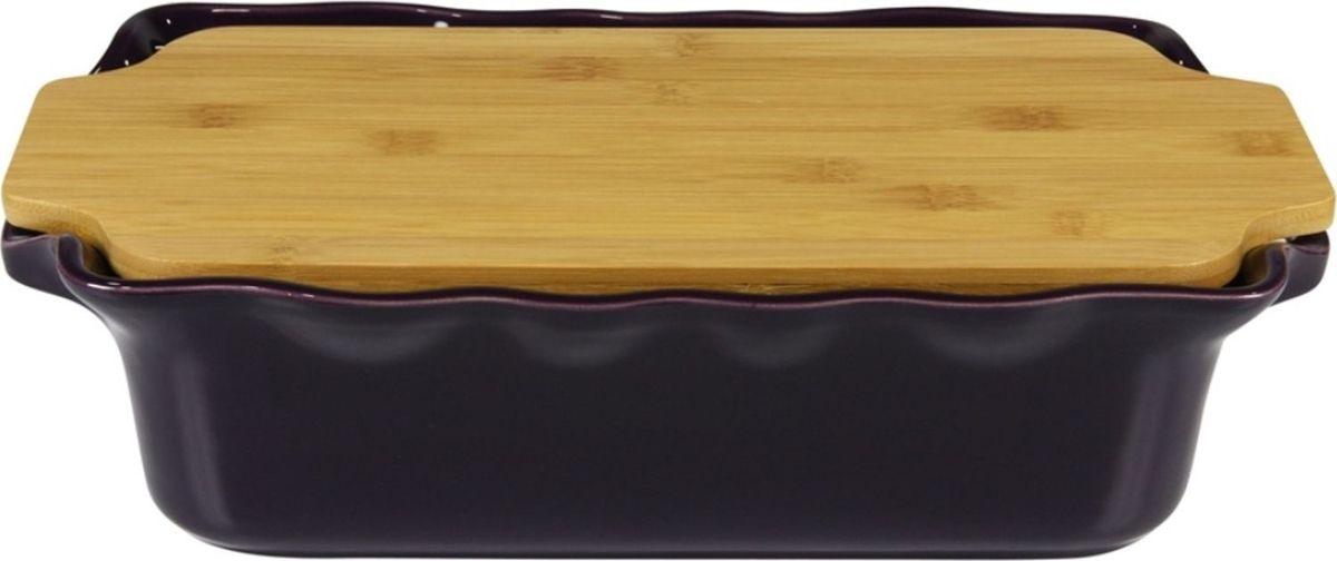 Форма для выпечки Appolia Cook&Stock, прямоугольная, с доской, цвет: баклажановый, 3,7 лFS-91909В оригинальной коллекции Cook&Stoock присутствуют мягкие цвета трех оттенков. Закругленные углы облегчают чистку. Легко использовать. Компактное хранение. В комплекте натуральные крышки из бамбука, которые можно использовать в качестве подставки, крышки и разделочной доски. Прочная жароустойчивая керамика экологична и изготавливается из высококачественной глины. Прочная глазурь устойчива к растрескиванию и сколам, не содержит свинца и кадмия. Глина обеспечивает медленный и равномерный нагрев, деликатное приготовление с сохранением всех питательных веществ и витаминов, а та же долго сохраняет тепло, что удобно при сервировке горячих блюд.