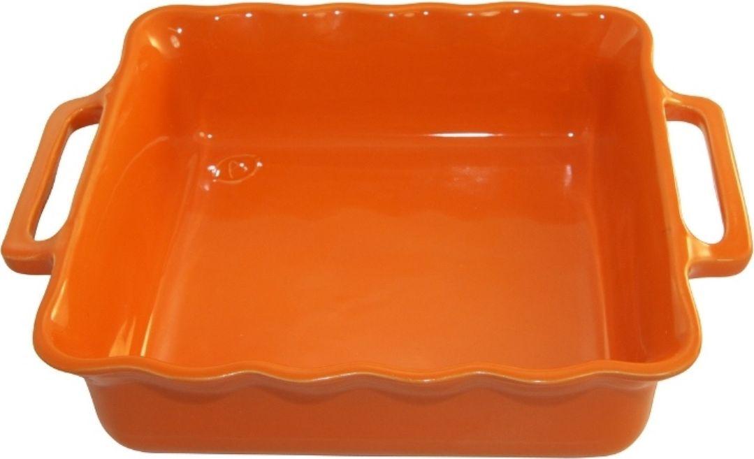 Форма для выпечки Appolia Delices, квадратная, цвет: мандариновый, 2,2 лFS-91909Благодаря большому разнообразию изящных форм и широкой цветовой гамме, коллекция DELICES предлагает всевозможные варианты приготовления блюд для себя и гостей. Выбирайте цвета в соответствии с вашими желаниями и вашей кухне. Закругленные углы облегчают чистку. Легко использовать. Большие удобные ручки. Прочная жароустойчивая керамика экологична и изготавливается из высококачественной глины. Прочная глазурь устойчива к растрескиванию и сколам, не содержит свинца и кадмия. Глина обеспечивает медленный и равномерный нагрев, деликатное приготовление с сохранением всех питательных веществ и витаминов, а та же долго сохраняет тепло, что удобно при сервировке горячих блюд.
