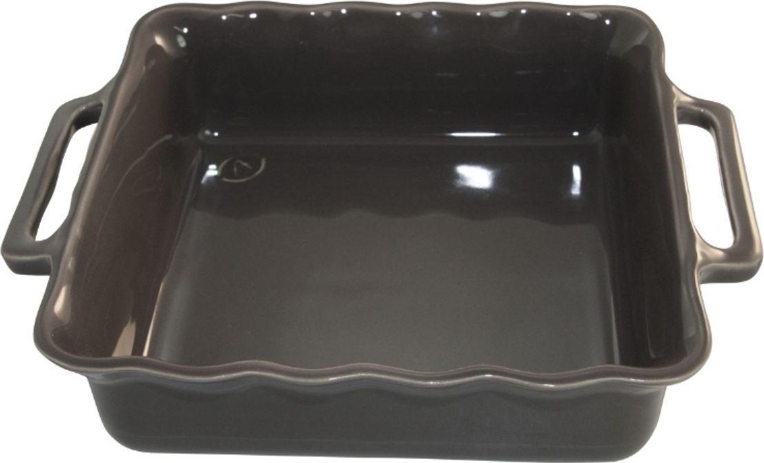 Форма для выпечки Appolia Delices, квадратная, цвет: темно-серый, 3,3 лFS-91909Благодаря большому разнообразию изящных форм и широкой цветовой гамме, коллекция DELICES предлагает всевозможные варианты приготовления блюд для себя и гостей. Выбирайте цвета в соответствии с вашими желаниями и вашей кухне. Закругленные углы облегчают чистку. Легко использовать. Большие удобные ручки. Прочная жароустойчивая керамика экологична и изготавливается из высококачественной глины. Прочная глазурь устойчива к растрескиванию и сколам, не содержит свинца и кадмия. Глина обеспечивает медленный и равномерный нагрев, деликатное приготовление с сохранением всех питательных веществ и витаминов, а та же долго сохраняет тепло, что удобно при сервировке горячих блюд.