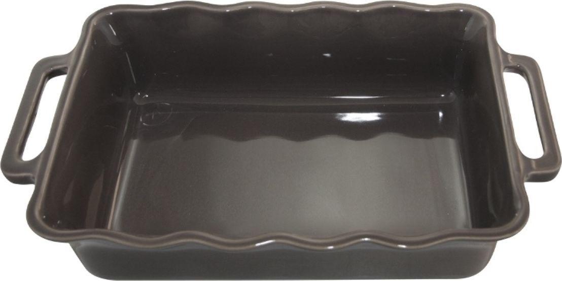 Форма для выпечки Appolia Delices, прямоугольная, цвет: темно-серый, 2,6 л115510Благодаря большому разнообразию изящных форм и широкой цветовой гамме, коллекция DELICES предлагает всевозможные варианты приготовления блюд для себя и гостей. Выбирайте цвета в соответствии с вашими желаниями и вашей кухне. Закругленные углы облегчают чистку. Легко использовать. Большие удобные ручки. Прочная жароустойчивая керамика экологична и изготавливается из высококачественной глины. Прочная глазурь устойчива к растрескиванию и сколам, не содержит свинца и кадмия. Глина обеспечивает медленный и равномерный нагрев, деликатное приготовление с сохранением всех питательных веществ и витаминов, а та же долго сохраняет тепло, что удобно при сервировке горячих блюд.