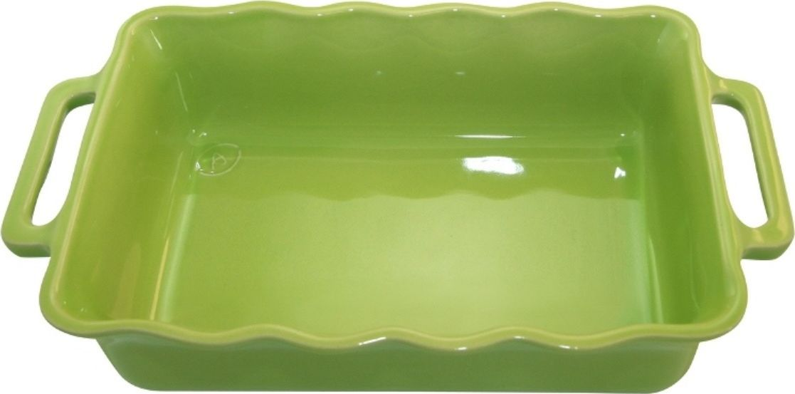 Форма для выпечки Appolia Delices, прямоугольная, цвет: лаймовый, 4 л54 009312Благодаря большому разнообразию изящных форм и широкой цветовой гамме, коллекция DELICES предлагает всевозможные варианты приготовления блюд для себя и гостей. Выбирайте цвета в соответствии с вашими желаниями и вашей кухне. Закругленные углы облегчают чистку. Легко использовать. Большие удобные ручки. Прочная жароустойчивая керамика экологична и изготавливается из высококачественной глины. Прочная глазурь устойчива к растрескиванию и сколам, не содержит свинца и кадмия. Глина обеспечивает медленный и равномерный нагрев, деликатное приготовление с сохранением всех питательных веществ и витаминов, а та же долго сохраняет тепло, что удобно при сервировке горячих блюд.