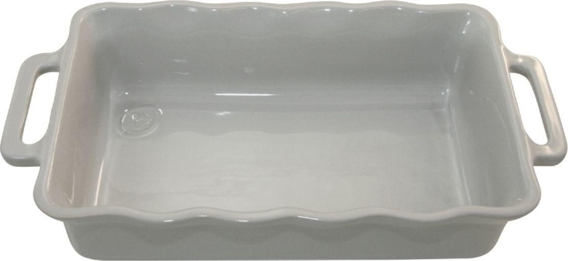 Форма для выпечки Appolia Delices, прямоугольная, цвет: серый, 4 лFS-91909Благодаря большому разнообразию изящных форм и широкой цветовой гамме, коллекция DELICES предлагает всевозможные варианты приготовления блюд для себя и гостей. Выбирайте цвета в соответствии с вашими желаниями и вашей кухне. Закругленные углы облегчают чистку. Легко использовать. Большие удобные ручки. Прочная жароустойчивая керамика экологична и изготавливается из высококачественной глины. Прочная глазурь устойчива к растрескиванию и сколам, не содержит свинца и кадмия. Глина обеспечивает медленный и равномерный нагрев, деликатное приготовление с сохранением всех питательных веществ и витаминов, а та же долго сохраняет тепло, что удобно при сервировке горячих блюд.