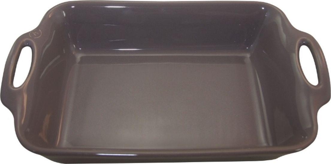 Форма для выпечки Appolia Harmonie, квадратная, цвет: серый, 2,5 лFS-91909Одна из новейших коллекций Harmonie выполнена в современном стиле. 7 модных цветов. Выполненная из Eco-пасты Ceram , как и другие коллекции, он предлагает много возможностей. В ней можно запекать разнообразные блюда, а так же использовать при сервировке, подавая готовый кулинарный шедевр сразу на обеденный стол. Закругленные углы облегчают чистку. Легко использовать. Большие удобные ручки. Прочная жароустойчивая керамика экологична и изготавливается из высококачественной глины. Прочная глазурь устойчива к растрескиванию и сколам, не содержит свинца и кадмия. Глина обеспечивает медленный и равномерный нагрев, деликатное приготовление с сохранением всех питательных веществ и витаминов, а та же долго сохраняет тепло, что удобно при сервировке горячих блюд.