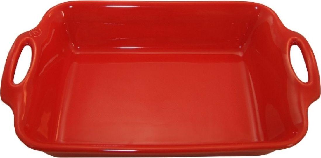 Форма для выпечки Appolia Harmonie, квадратная, цвет: маково-красный, 4,6 л54 009303Одна из новейших коллекций Harmonie выполнена в современном стиле. 7 модных цветов. Выполненная из Eco-пасты Ceram , как и другие коллекции, он предлагает много возможностей. В ней можно запекать разнообразные блюда, а так же использовать при сервировке, подавая готовый кулинарный шедевр сразу на обеденный стол. Закругленные углы облегчают чистку. Легко использовать. Большие удобные ручки. Прочная жароустойчивая керамика экологична и изготавливается из высококачественной глины. Прочная глазурь устойчива к растрескиванию и сколам, не содержит свинца и кадмия. Глина обеспечивает медленный и равномерный нагрев, деликатное приготовление с сохранением всех питательных веществ и витаминов, а та же долго сохраняет тепло, что удобно при сервировке горячих блюд.