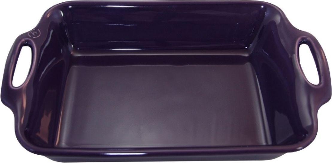 Форма для выпечки Appolia Harmonie, квадратная, цвет: баклажановый, 4,6 л54 009303Одна из новейших коллекций Harmonie выполнена в современном стиле. 7 модных цветов. Выполненная из Eco-пасты Ceram , как и другие коллекции, он предлагает много возможностей. В ней можно запекать разнообразные блюда, а так же использовать при сервировке, подавая готовый кулинарный шедевр сразу на обеденный стол. Закругленные углы облегчают чистку. Легко использовать. Большие удобные ручки. Прочная жароустойчивая керамика экологична и изготавливается из высококачественной глины. Прочная глазурь устойчива к растрескиванию и сколам, не содержит свинца и кадмия. Глина обеспечивает медленный и равномерный нагрев, деликатное приготовление с сохранением всех питательных веществ и витаминов, а та же долго сохраняет тепло, что удобно при сервировке горячих блюд.