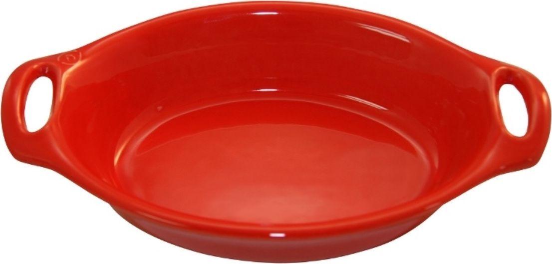 Форма для выпечки Appolia Harmonie, овальная, цвет: красный, 2,1 л94672Одна из новейших коллекций Harmonie выполнена в современном стиле. 7 модных цветов. Выполненная из Eco-пасты Ceram , как и другие коллекции, он предлагает много возможностей. В ней можно запекать разнообразные блюда, а так же использовать при сервировке, подавая готовый кулинарный шедевр сразу на обеденный стол. Закругленные углы облегчают чистку. Легко использовать. Большие удобные ручки. Прочная жароустойчивая керамика экологична и изготавливается из высококачественной глины. Прочная глазурь устойчива к растрескиванию и сколам, не содержит свинца и кадмия. Глина обеспечивает медленный и равномерный нагрев, деликатное приготовление с сохранением всех питательных веществ и витаминов, а та же долго сохраняет тепло, что удобно при сервировке горячих блюд.