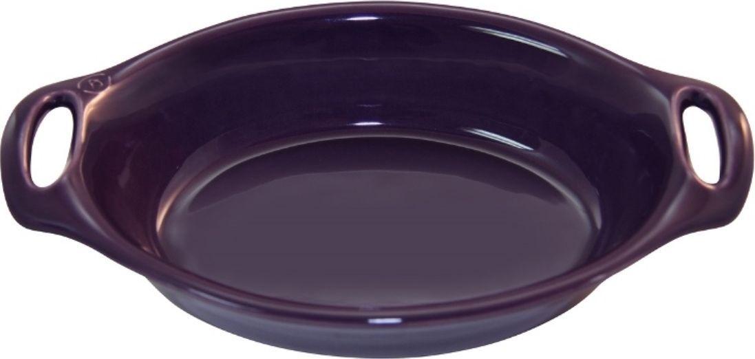 Форма для выпечки Appolia Harmonie, овальная, цвет: баклажановый, 2,1 л54 009312Одна из новейших коллекций Harmonie выполнена в современном стиле. 7 модных цветов. Выполненная из Eco-пасты Ceram , как и другие коллекции, он предлагает много возможностей. В ней можно запекать разнообразные блюда, а так же использовать при сервировке, подавая готовый кулинарный шедевр сразу на обеденный стол. Закругленные углы облегчают чистку. Легко использовать. Большие удобные ручки. Прочная жароустойчивая керамика экологична и изготавливается из высококачественной глины. Прочная глазурь устойчива к растрескиванию и сколам, не содержит свинца и кадмия. Глина обеспечивает медленный и равномерный нагрев, деликатное приготовление с сохранением всех питательных веществ и витаминов, а та же долго сохраняет тепло, что удобно при сервировке горячих блюд.