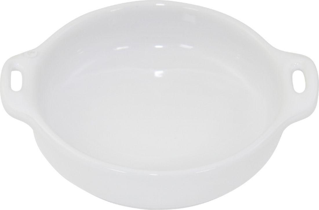 Форма для крем-брюле Appolia Harmonie, цвет: белый, 210 млDH8-33Форма для крем-брюле Appolia Harmonie изготовлена из керамики. В ней можно запекать разнообразные блюда, а так же использовать при сервировке, подавая готовый кулинарный шедевр сразу на обеденный стол. Закругленные углы облегчают чистку.Прочная жароустойчивая керамика экологична и изготавливается из высококачественной глины. Прочная глазурь устойчива к растрескиванию и сколам, не содержит свинца и кадмия. Глина обеспечивает медленный и равномерный нагрев, деликатное приготовление с сохранением всех питательных веществ и витаминов, а та же долго сохраняет тепло, что удобно при сервировке горячих блюд. Объем формы: 210 мл.