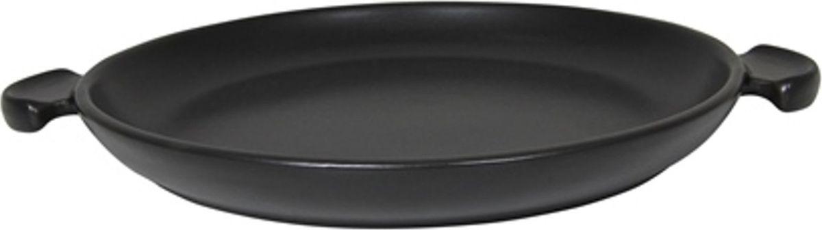 Противень для пиццы Appolia Terre&Flamme, цвет: черный, 35,5 х 28,5 х 3,2 см54 009312Коллекция Terre&Flamme сочетает в себе современные технологии и вековые традиции. Прочная жароустойчивая керамика экологична и изготавливается из высококачественной глины. Прочная глазурь устойчива к растрескиванию и сколам, не содержит свинца и кадмия. Глина обеспечивает медленный и равномерный нагрев, деликатное приготовление с сохранением всех питательных веществ и витаминов, а та же долго сохраняет тепло, что удобно при сервировке горячих блюд. Подходит для приготовления на открытом огне, на газовых, электрических и других плитах, некоторые модели подходят для использования на индукционных плитах. Необходимо тщательно просушивать после мытья и хранить с приоткрытой крышкой.