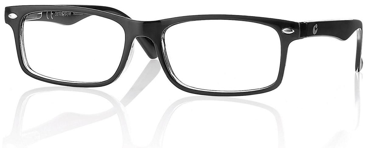 CentroStyle Очки для чтения +1.50, цвет: черный2477Готовые очки для чтения - это очки с плюсовыми диоптриями, предназначенные для комфортного чтения для людей с пониженной эластичностью хрусталика. Очки итальянской марки Centrostyle - это модные и незаменимые в повседневной жизни аксессуары. Более чем двадцати летний опыт дизайнеров компании CentroStyle гарантирует комфорт и качество.