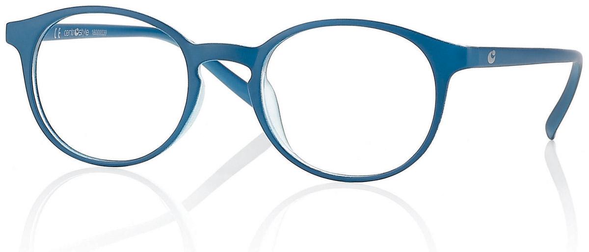 CentroStyle Очки для чтения +2.50, цвет: синийБУ-00000316Готовые очки для чтения - это очки с плюсовыми диоптриями, предназначенные для комфортного чтения для людей с пониженной эластичностью хрусталика. Очки итальянской марки Centrostyle - это модные и незаменимые в повседневной жизни аксессуары. Более чем двадцати летний опыт дизайнеров компании CentroStyle гарантирует комфорт и качество.