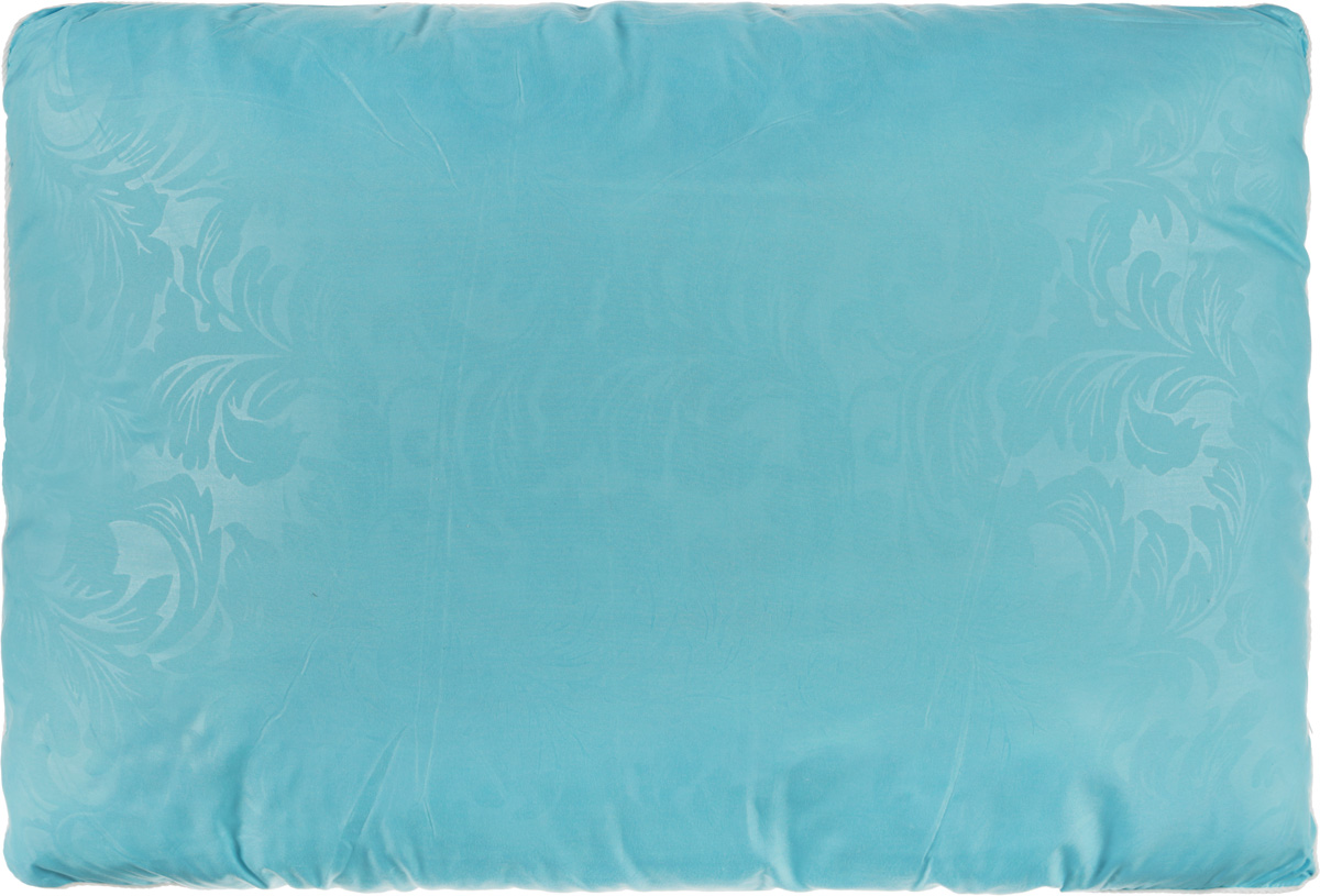 Подушка Smart Textile Безмятежность, наполнитель: лебяжий пух, алоэ вера, цвет: голубой, 50 х 70 см531-105Удобная и мягкая подушка Smart Textile Безмятежность подарит здоровый сон и отличный отдых. Чехол подушки на молнии выполнен из микрофибры с красивым узором. В качестве наполнителя используется лебяжий пух, пропитанный экстрактом алоэ вера. Лебяжий пух - это 100% сверхтонкое высокосиликонизированное волокно. Такой наполнитель мягкий, приятный на ощупь и гипоаллергенный. Подушка удобна в эксплуатации: легко стирается, быстро сохнет, сохраняя первоначальные свойства, устойчива к воздействию прямых солнечных лучей, износостойка и прочна. Изделие обладает высокой теплоизоляционной способностью - не вызывает перегрева головы. Подушка обеспечит оптимальную, в меру упругую поддержку головы во время сна. На такой подушке комфортно спать в любую погоду людям всех возрастов.