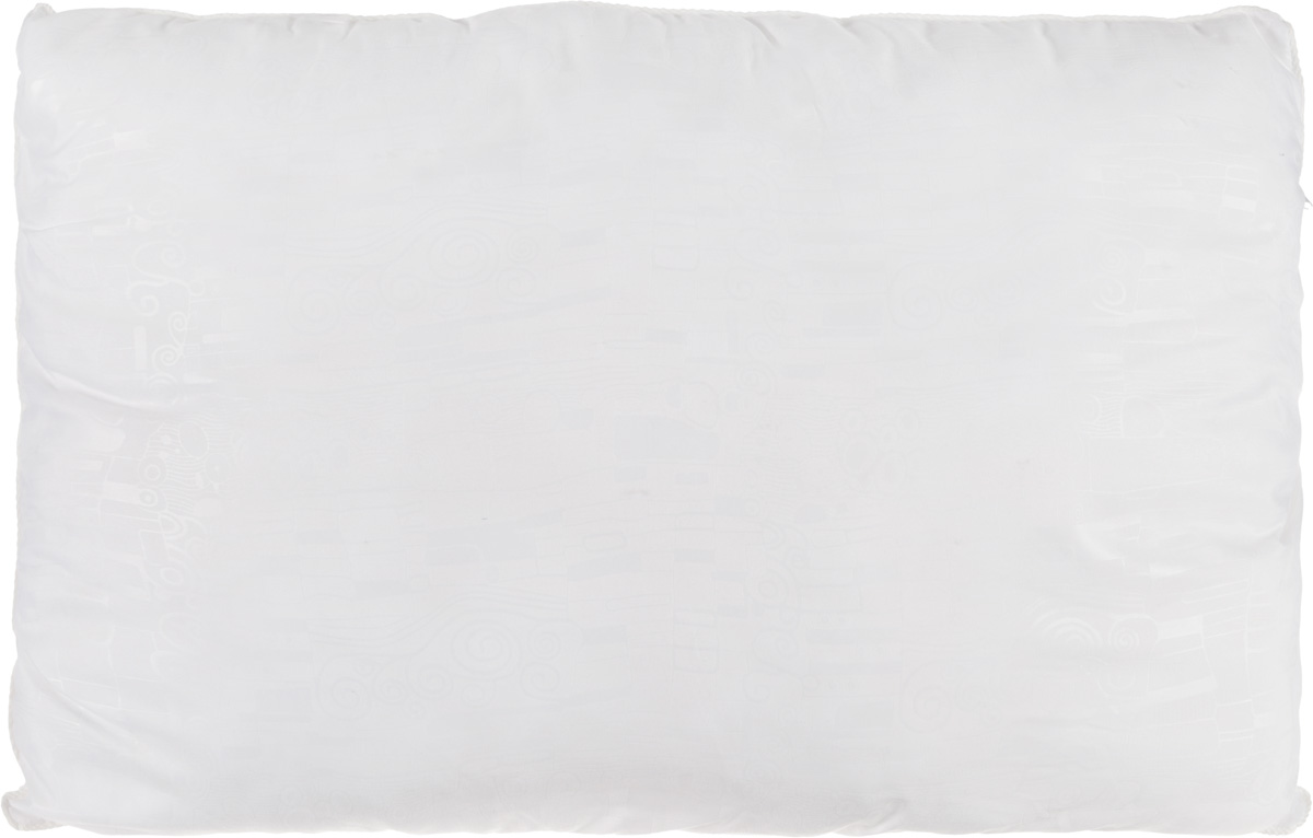 Подушка Smart Textile Безмятежность, наполнитель: лебяжий пух, цвет: белый, 50 х 70 смES-414Удобная и мягкая подушка Smart Textile Безмятежность подарит здоровый сон и отличный отдых. Чехол подушки на молнии выполнен из микрофибры с красивым узором. В качестве наполнителя используется лебяжий пух. Лебяжий пух - это 100% сверхтонкое высокосиликонизированное волокно. Такой наполнитель мягкий, приятный на ощупь и гипоаллергенный. Подушка удобна в эксплуатации: легко стирается, быстро сохнет, сохраняя первоначальные свойства, устойчива к воздействию прямых солнечных лучей, износостойка и прочна. Изделие обладает высокой теплоизоляционной способностью - не вызывает перегрева головы. Подушка обеспечит правильную поддержку головы и шеи во время сна. Наполнитель не сбивается в комки и сохраняет тепло. Подушка с этим наполнителем подойдет людям, склонным к аллергии, так как отталкивает пыль и не впитывает запахи.