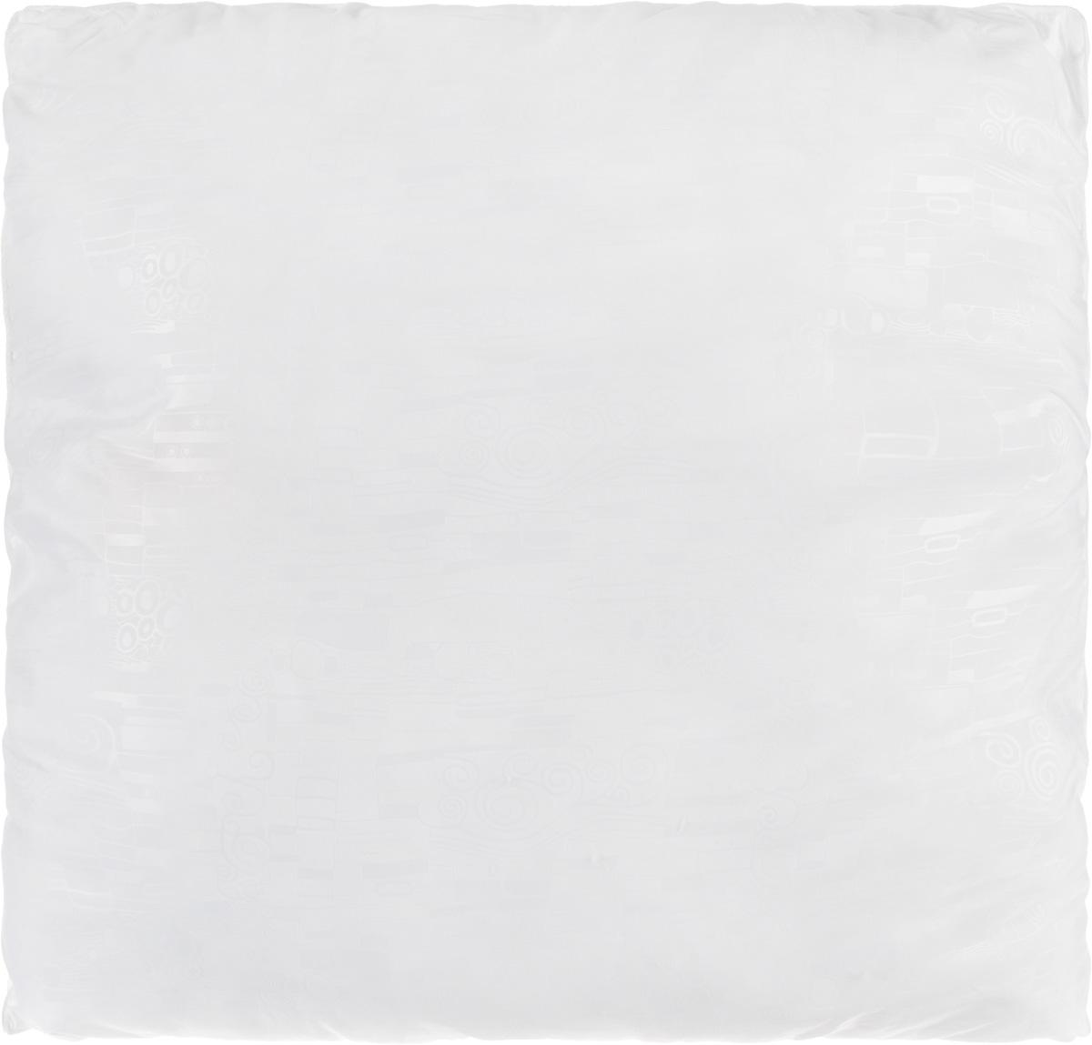 Подушка Smart Textile Безмятежность, наполнитель: лебяжий пух, бамбук, цвет: белый, 70 х 70 смНВЛ-40 CafeУдобная и мягкая подушка Smart Textile Безмятежность подарит здоровый сон и отличный отдых. Чехол подушки на молнии выполнен из микрофибры с красивым узором. В качестве наполнителя используется лебяжий пух с добавлением бамбукового волокна. Подушка мягкая, легкая и воздушная, бамбуковый наполнитель напоминает вату или синтепон. Лебяжий пух - это 100% сверхтонкое высокосиликонизированное волокно. Такой наполнитель мягкий и приятный на ощупь. Гипоаллергенное волокно бамбука легко пропускает воздух и не вызывает потливости. Оно мгновенно впитывает влагу и быстро высыхает, что особенно важно в летний зной. Подушка удобна в эксплуатации: легко стирается, быстро сохнет, сохраняя первоначальные свойства, устойчива к воздействию прямых солнечных лучей, износостойка и прочна. Подушка не накапливает запахов и не требует химчистки. Подушка упруга, великолепно держит форму, а также отличается достаточной жесткостью. Сон на такой подушке не принесет болей в шее и позвоночнике. Изделие также обладает высокой теплоизоляционной способностью - не вызывает перегрева головы.