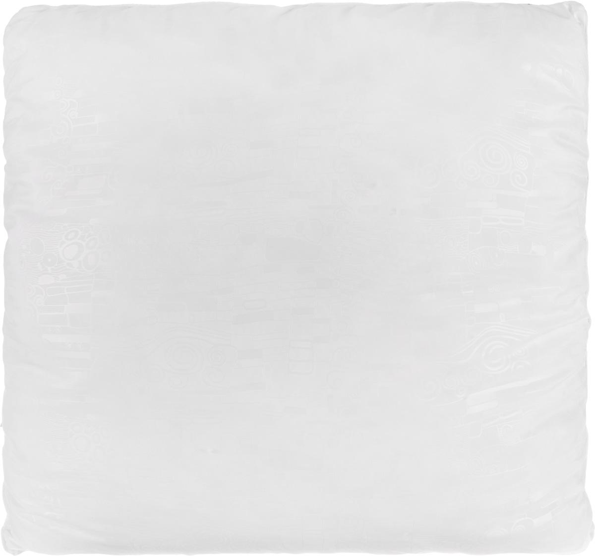 Подушка Smart Textile Безмятежность, наполнитель: лебяжий пух, алоэ вера, цвет: белый, 70 х 70 смES-412Удобная и мягкая подушка Smart Textile Безмятежность подарит здоровый сон и отличный отдых. Чехол подушки на молнии выполнен из микрофибры с красивым узором. В качестве наполнителя используется лебяжий пух, пропитанный экстрактом алоэ вера. Лебяжий пух - это 100% сверхтонкое высокосиликонизированное волокно. Такой наполнитель мягкий, приятный на ощупь и гипоаллергенный. Подушка удобна в эксплуатации: легко стирается, быстро сохнет, сохраняя первоначальные свойства, устойчива к воздействию прямых солнечных лучей, износостойка и прочна. Изделие обладает высокой теплоизоляционной способностью - не вызывает перегрева головы. Подушка обеспечит оптимальную, в меру упругую поддержку головы во время сна. На такой подушке комфортно спать в любую погоду людям всех возрастов.