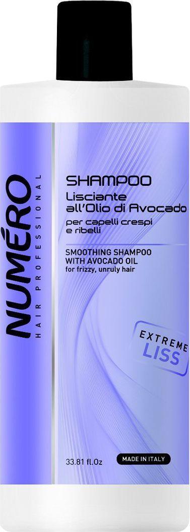 Brelil Numero Liss Шампунь разглаживающий с маслом авокадо для пушистых и непослушных волос 1000 млB080106Для вьющихся и непослушных волос. Разглаживающее молочко, облегчает расчесывание и не требует смывания. Идеальное средство для придания волосам шелковистости и невероятного блеска.
