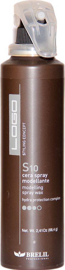 Brelil Logo S10 Modelling Spray Wax Моделирующий спрей-воск экстра сильной фиксации 150 млB202043Brelil Logo S 10 Modelling Spray Wax Моделирующий спрей-воск экстра сильной фиксации является инновационным средством, которое сочетает в себе все главные преимущества гелей и аэрозольных средств для фиксации волос. Данный продукт создан по эксклюзивной технологии итальянской компании Brelil Hydra Protection Complex, благодаря которой волосы получают оптимальный уровень увлажнения при химической обработке, который сохраняется на протяжении долгого времени. Спрей-воск имеет лёгкую и приятную текстуру, очень мягко воздействует на волосы, несмотря на очень высокий уровень фиксации, придаёт волосам прекрасный блеск и замечательную шелковистость.Моделирующий спрей-воск Brelil Logo S10 Modelling Spray Wax максимально удобен и прост в применении, обеспечивает гарантированно стойкий результат фиксации волос и идеально подходит для создания самых различных причёсок.Степень фиксации: экстра сильная фиксация (уровень 10).