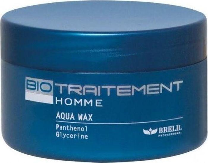 Brelil Bio Traitement Homme Aqua Wax Воск на водной основе 100 млMP59.4DВоск на водной основе от Brelil Professional легко наносится и совершенно не ощущается на волосах, обладает экономичным расходом и великолепно фиксирует даже самые необычные прически. Средство активно увлажняет и питает волосы, придает им необычайный блеск и ухоженный вид. Содержит витамин E.