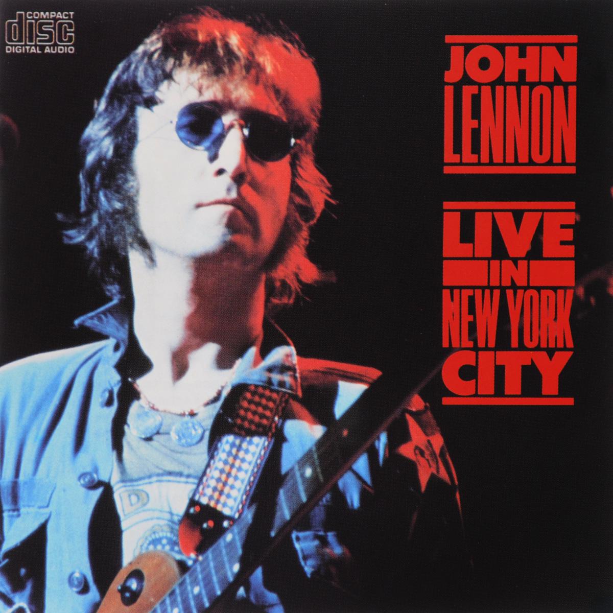 Джон Леннон John Lennon. Live In New York City paul simon live in new york city blu ray
