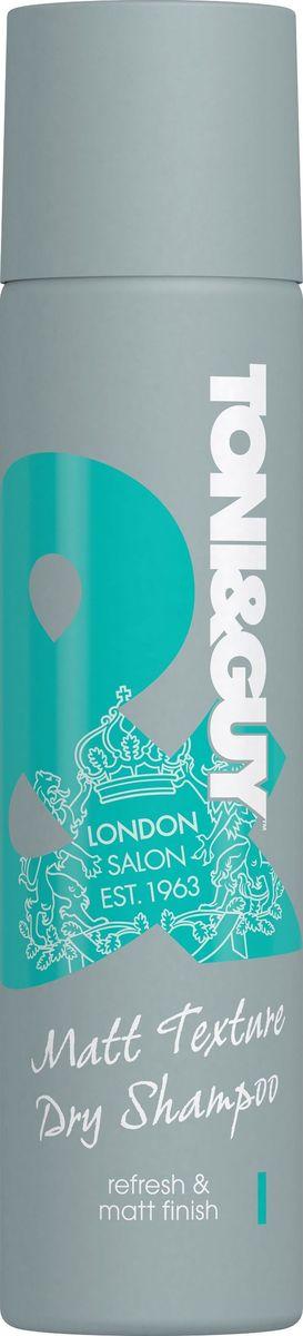 Toni&Guy Шампунь сухой Matt Texture Текстурность и матовый эффект, 250 млFS-36054Сухая текстура шампуня мгновенно освежает корни волос , придает им эффект матовости и текстурности без лишних усилий.