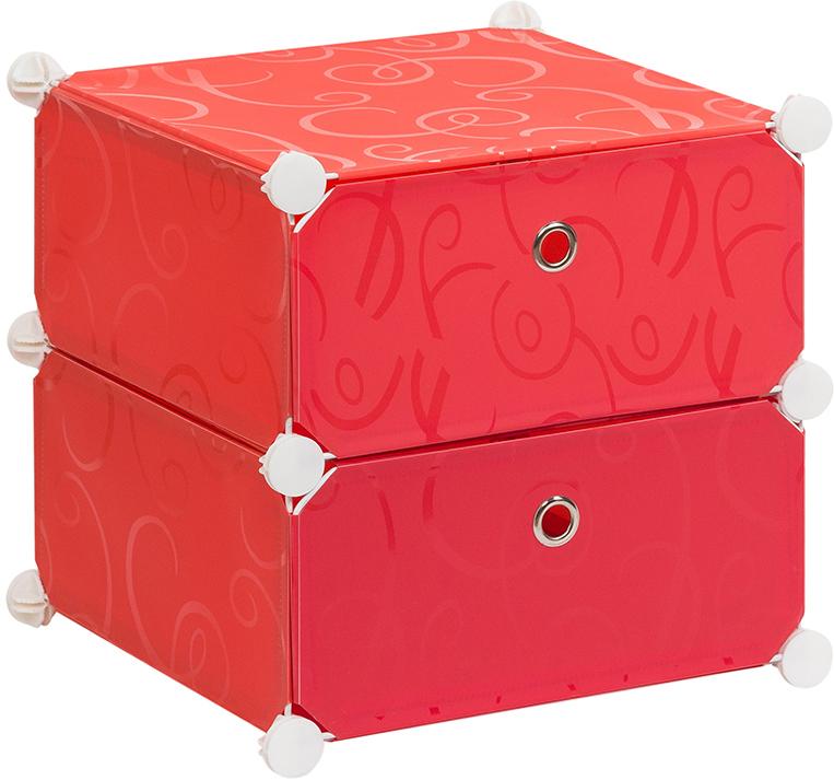 Полка складная EL Casa, для модульной системы хранения, цвет: красный, 37 х 39 х 39 см. 3706441004900000360Полка складная EL Casa представляет собой сборный металлический каркас, на который натянуты панели из полипропилена. Дверцы снабжены магнитом, а ручка выполнена в виде кольца. Изделие имеет 2 отделения. Модульная полка предназначена для хранения одежды, игрушек и мелочей. Она легкая, вместительная, быстро собирается, не занимает много места, комбинируется с другими полками модульных систем El Casa. Компактная полка станет незаменимой дома или на даче, однотонная расцветка позволит ей вписаться в любой интерьер.