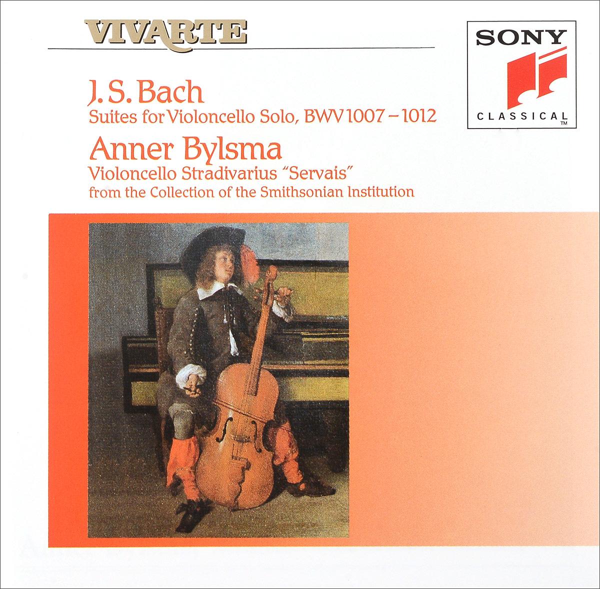 Zakazat.ru: Anner Bylsma. Bach. Suites For Violoncello Solo (2 CD)