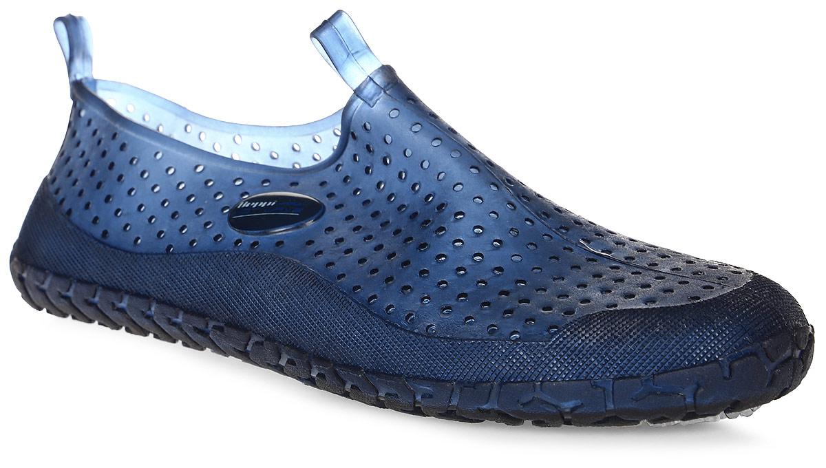 Обувь для кораллов Beppi, цвет: синий. 2155272. Размер 372155211Обувь для кораллов Beppi предназначена для пляжного отдыха, плавания в открытой воде, а также для любых видов водного спорта. Модель выполнена гибкой безопасной резины с практичными отверстиями. Резиновая подошва удобна и защищает ступни ног при хождении по каменистому дну, а также от горячего песка при хождении по пляжу. Аквашузы очень легкие и быстро сохнут.