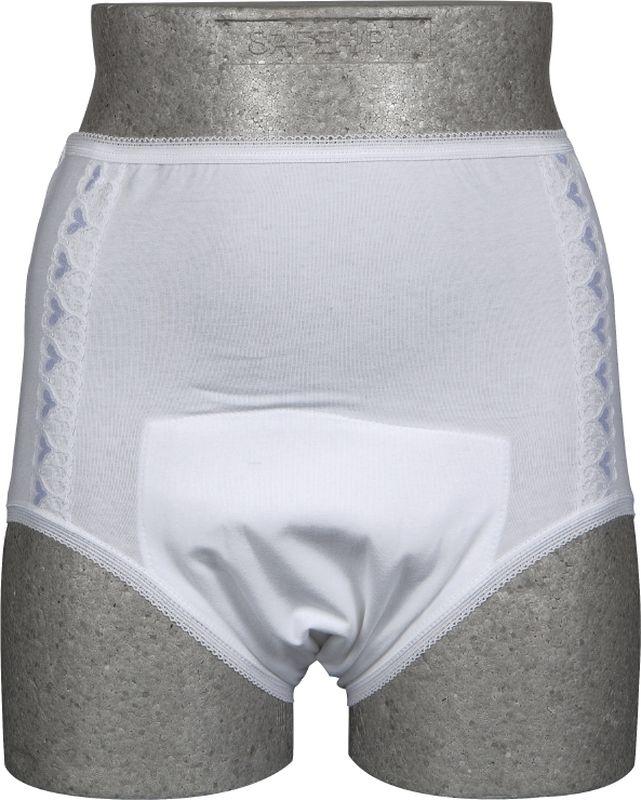 Abena Многоразовое впитывающее белье для женщин Abri-Lady MМТ-10MHAbena Многоразовое впитывающее белье для женщин Abri-Lady M, впитываемость 250 г, размер 80-100 см