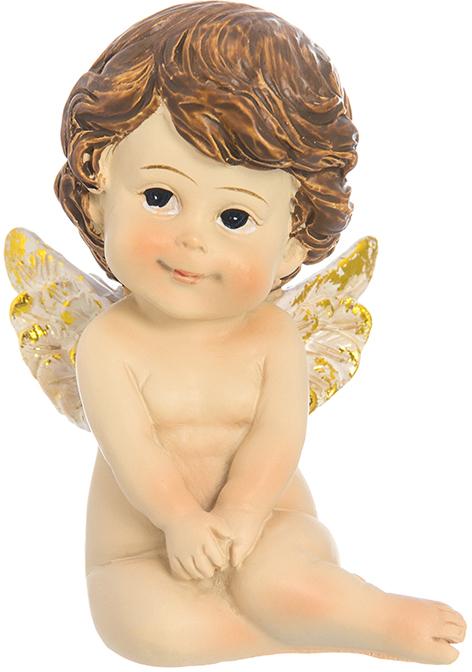 Фигурка декоративная Elan Gallery Ангелочек, высота 7,5 см10850/1W GOLD IVORYДекоративные фигурки - это отличный способ разнообразить внутреннее убранство вашего дома. Декоративная фигурка с изображением ангела станет прекрасным сувениром, который вызовет улыбку и поднимет настроение.Фигурка выполнена из полистоуна.