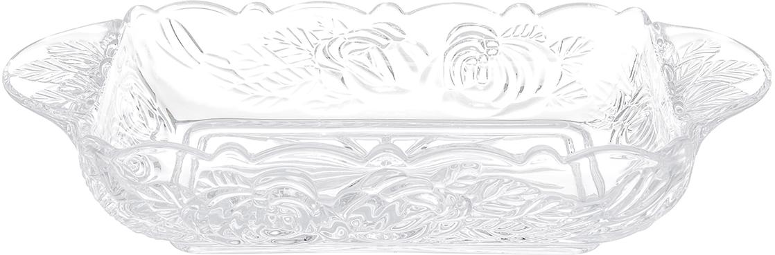 Шубница Elan Gallery Розы, 900 млVT-1520(SR)Шубница Elan Gallery Розы, выполненная из высококачественного стекла, идеальноеблюдо для сервировки традиционного салата Сельдь под шубой или любого другогослоеного салата. Компактное, аккуратное блюдо с ручками для удобства станетнезаменимым при любом застолье. Не рекомендуется применять абразивные моющиесредства.Не использовать в микроволновой печи.Объем: 900 мл.Размер блюда (с учетом ручек): 29,5 х 15 х 5,5 см.