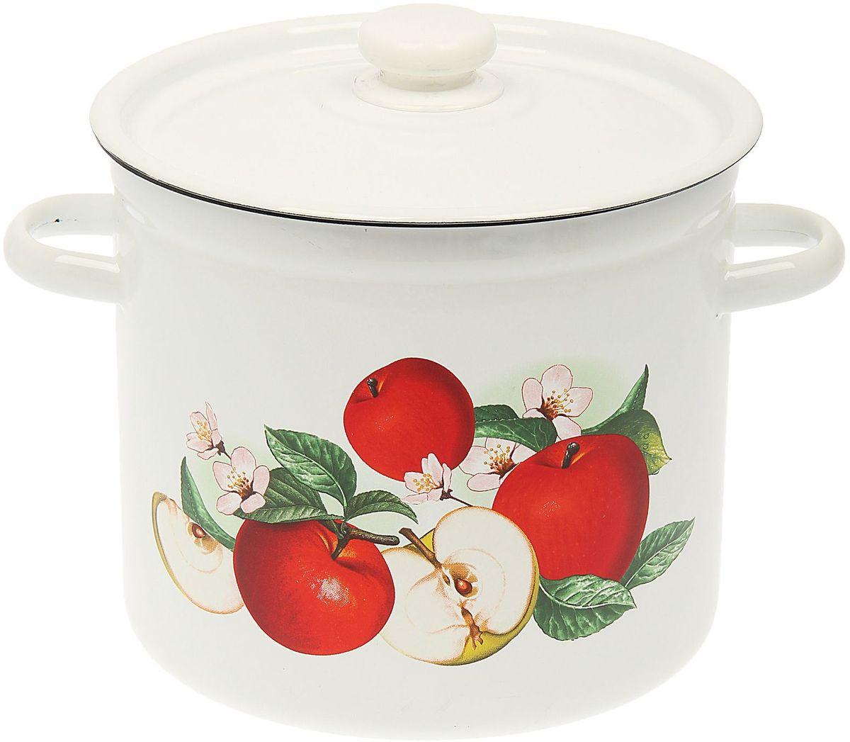 Кастрюля Epos Ароматный, 7 л54 009312Эмалированная кастрюля пригодится вам для быстрого приготовления разных типов блюд. Такая посуда подходит для домашнего и профессионального использования.Кастрюля цилиндрическая — помощь на кухне на долгие годы.Достоинства:посуда быстро и равномерно нагревается;корпус стоек к ржавчине;изделие легко отмывается в посудомоечной машине.Благодаря приятным цветам кастрюля удачно впишется в любой дизайн интерьера. Наилучшее качество покрытия достигается за счёт того, что посуда проходит обжиг при температуре до 800 градусов.Чтобы предмет сохранял наилучшие эксплуатационные свойства, соблюдайте правила ухода:избегайте ударов и падений;не пользуйтесь высокоабразивными чистящими средствами;не допускайте резких перепадов температуры.Посуда подходит для долговременного хранения пищи.
