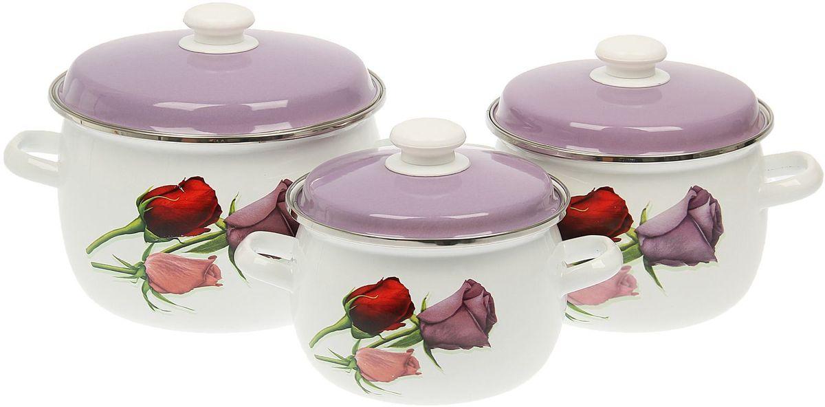 Набор кастрюль Epos Крышка цветная, с крышками, 6 предметов115510Эмалированная посудая пригодится вам для быстрого приготовления разных типов блюд. Такая посуда подходит для домашнего и профессионального использования.Достоинства:посуда быстро и равномерно нагревается;корпус стоек к ржавчине;изделие легко отмывается в посудомоечной машине.Благодаря приятным цветам кастрюля удачно впишется в любой дизайн интерьера. Наилучшее качество покрытия достигается за счёт того, что посуда проходит обжиг при температуре до 800 градусов.Чтобы предмет сохранял наилучшие эксплуатационные свойства, соблюдайте правила ухода:избегайте ударов и падений;не пользуйтесь высокоабразивными чистящими средствами;не допускайте резких перепадов температуры.Посуда подходит для долговременного хранения пищи.