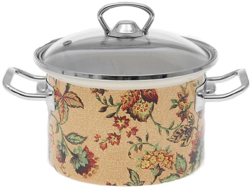 Кастрюля Epos Версаль, 2 л391602Эмалированная кастрюля пригодится вам для быстрого приготовления разных типов блюд. Такая посуда подходит для домашнего и профессионального использования.Кастрюля цилиндрическая — помощь на кухне на долгие годы.Достоинства:посуда быстро и равномерно нагревается;корпус стоек к ржавчине;изделие легко отмывается в посудомоечной машине.Благодаря приятным цветам кастрюля удачно впишется в любой дизайн интерьера. Наилучшее качество покрытия достигается за счёт того, что посуда проходит обжиг при температуре до 800 градусов.Чтобы предмет сохранял наилучшие эксплуатационные свойства, соблюдайте правила ухода:избегайте ударов и падений;не пользуйтесь высокоабразивными чистящими средствами;не допускайте резких перепадов температуры.Посуда подходит для долговременного хранения пищи.
