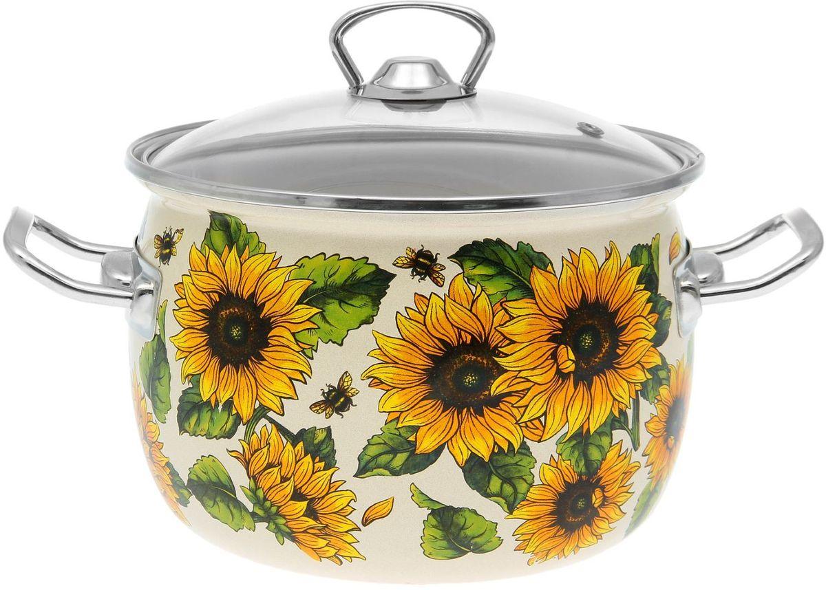 Кастрюля Epos Бежевое солнышко, с крышкой, 3,5 л54 009312Эмалированная кастрюля пригодится вам для быстрого приготовления разных типов блюд. Такая посуда подходит для домашнего и профессионального использования.Достоинства:посуда быстро и равномерно нагревается;корпус стоек к ржавчине;изделие легко отмывается в посудомоечной машине.Благодаря приятным цветам кастрюля удачно впишется в любой дизайн интерьера. Наилучшее качество покрытия достигается за счёт того, что посуда проходит обжиг при температуре до 800 градусов.Чтобы предмет сохранял наилучшие эксплуатационные свойства, соблюдайте правила ухода:избегайте ударов и падений;не пользуйтесь высокоабразивными чистящими средствами;не допускайте резких перепадов температуры.Посуда подходит для долговременного хранения пищи.