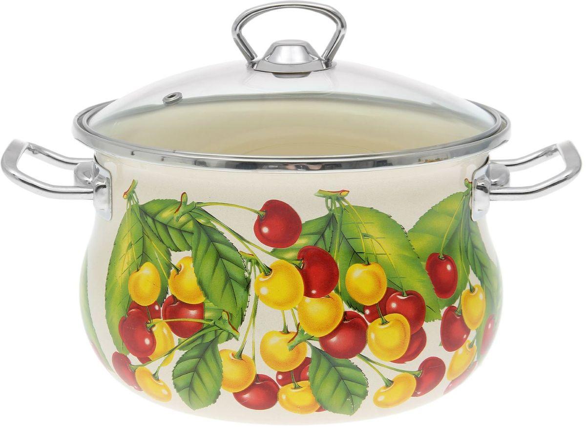 Кастрюля Epos Бежевая вкусняшка, с крышкой, 3,5 л54 009312Эмалированная кастрюля пригодится вам для быстрого приготовления разных типов блюд. Такая посуда подходит для домашнего и профессионального использования.Кастрюля цилиндрическая — помощь на кухне на долгие годы.Достоинства:посуда быстро и равномерно нагревается;корпус стоек к ржавчине;изделие легко отмывается в посудомоечной машине.Благодаря приятным цветам кастрюля удачно впишется в любой дизайн интерьера. Наилучшее качество покрытия достигается за счёт того, что посуда проходит обжиг при температуре до 800 градусов.Чтобы предмет сохранял наилучшие эксплуатационные свойства, соблюдайте правила ухода:избегайте ударов и падений;не пользуйтесь высокоабразивными чистящими средствами;не допускайте резких перепадов температуры.Посуда подходит для долговременного хранения пищи.