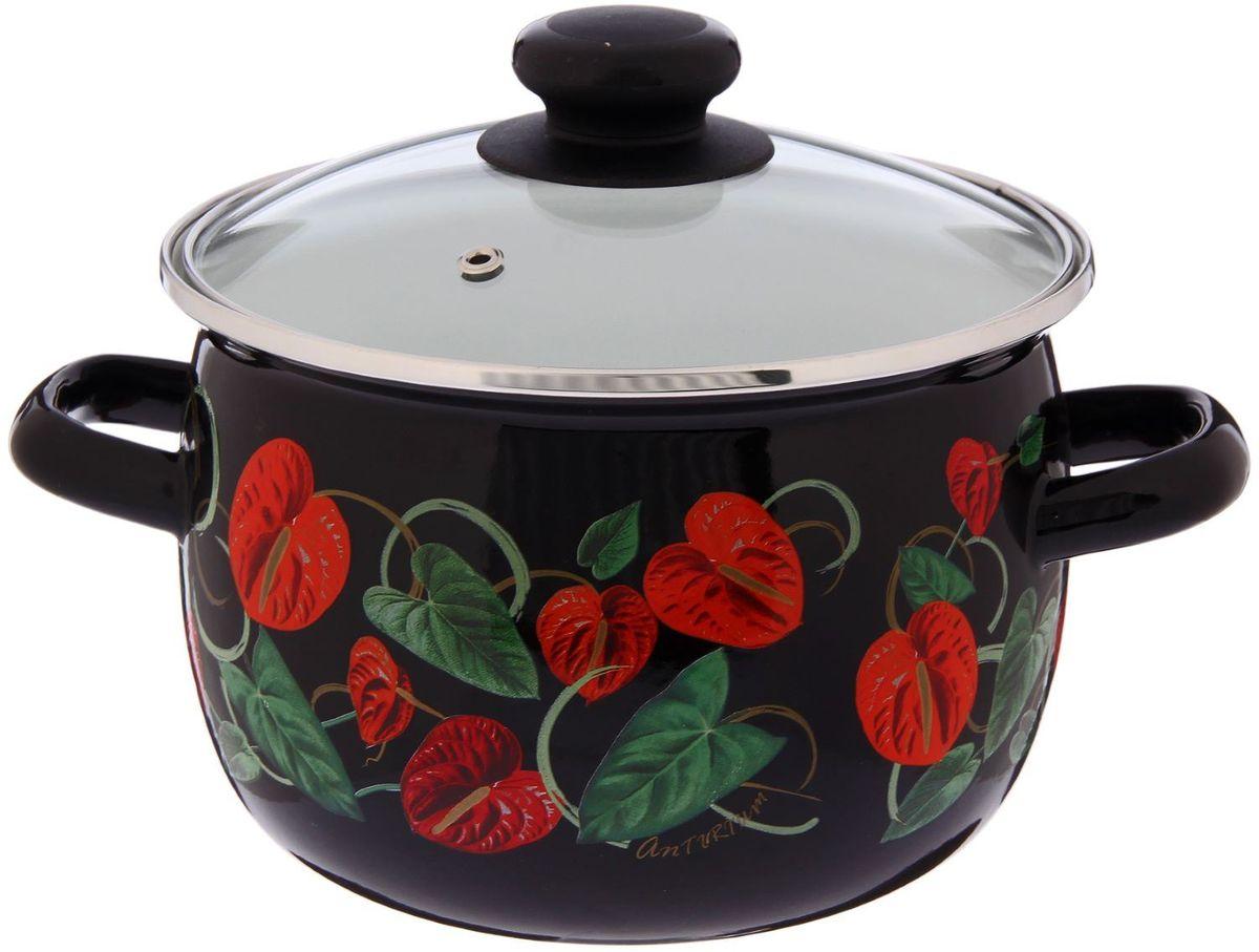 Кастрюля Epos Антуриум, с крышкой, 3,5 л54 009312Эмалированная кастрюля пригодится вам для быстрого приготовления разных типов блюд. Такая посуда подходит для домашнего и профессионального использования.Достоинства:посуда быстро и равномерно нагревается;корпус стоек к ржавчине;изделие легко отмывается в посудомоечной машине.Благодаря приятным цветам кастрюля удачно впишется в любой дизайн интерьера. Наилучшее качество покрытия достигается за счёт того, что посуда проходит обжиг при температуре до 800 градусов.Чтобы предмет сохранял наилучшие эксплуатационные свойства, соблюдайте правила ухода:избегайте ударов и падений;не пользуйтесь высокоабразивными чистящими средствами;не допускайте резких перепадов температуры.Посуда подходит для долговременного хранения пищи.